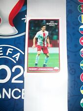 Panini Euro 2016 Coca Cola Stickers Bulgarian Edition Robert Lewandowski