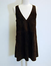 Free People Brown Retro Love Suede Mini Dress (XS) - Sold Out in Stores!