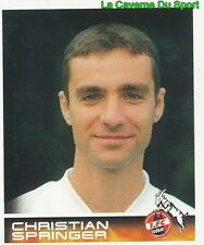 294 CHRISTIAN SPRINGER DEUTSCHLAND 1. FC KÖLN STICKER BUNDESLIGA 2001 PANINI