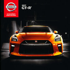 2017 Nissan GTR GT-R 16-page Original Car Sales Brochure Catalog
