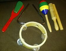 Melissa and Doug Musical Instrument Lot