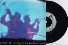 """THE TEARDROP EXPLODES - COLOURS FLY AWAY - 7"""" 45 VINYL RECORD w PICT SLV - 1981"""