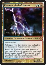 Journey Into Nyx ~ KERANOS, GOD OF STORMS mythic rare Magic the Gathering card