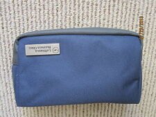 New Navy Blue Lufthansa Business Class Amenity Bag, Elegant and very functional