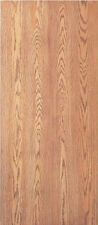 Flush Solid Core Interior Red Oak Stain Grade Wood Doors 6'8 Tall x 1-3/4 Thick