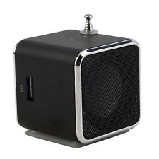 Portable TF USB Mini Stereo Speaker Music Player FM Radio PC MP3 /4#F