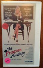 THE PRINCESS ACADEMY VHS Eva Gabor Lu Leonard Sex Comedy Empire Pictures