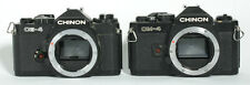 CHINON CE-4 CM-4 BODIES FOR PARTS SET OF 2