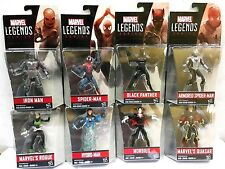 "MARVEL INFINITE SERIES 3.75"" WAVE 3 2016 SET OF 8 BLACK PANTHER HYORO-MAN ROGUE"