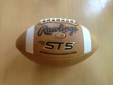 Rawlings ST5 Gold Soft Touch Leather Football (Aired-up)