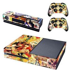 One Piece Luffy Protective Decal Skin Stickers Wrap Cover for Xbox One Console