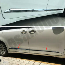 Chrome Car Auto Side Door Molding Trim Cover Protecter For Toyota Sienna 11-16