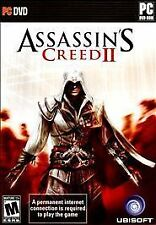 Assassin creed II 2 PC/DVD  BRAND NEW SEALED SHIPS NEXT DAY