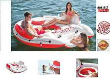 Island Party River Lounge Inflatable Pool Raft Floating Lake Water Float New