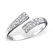 Sterling Silver 925 Ajustable Toe Ring Jewelry Fashion Rings For Women Foot Leg