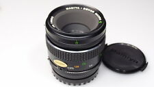 MAMIYA-SECOR MACRO C 80mm 1:4 645 LENS MINT W/CAPS MEDIUM FORMAT