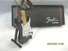 axe heaven  mini guitar 1:4 scale guitar fender strat distressed  mini guitar
