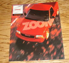 Original 1998 GMC Sonoma Sales Brochure 98