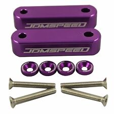 PURPLE BILLET HOOD RISERS SPACERS FOR HONDA CIVIC 1988-2000 EF EG EK