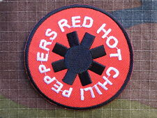 ECUSSON PATCH toppa aufnaher THERMOCOLLANT RED HOT CHILI PEPPERS /diam 6.7 cm