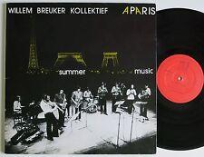 WILLEM BREUKER KOLLEKTIEF A PARIS SUMMER MUSIC RARE ORIG MARGE AVANT LP MINT-