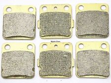 Front Rear Brake Pads For Yamaha YFS 200 Blaster YFM 350 YFZ 350 Warrior Banshee