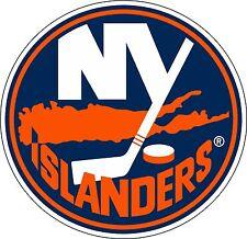 "New York Islanders Large NHL Hockey sticker 9.5""x 9.5"""