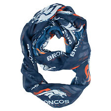 DENVER BRONCOS INFINITY SCARF BLUE LICENSED NEW IN PACK GREAT GIFT IDEA