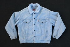 VTG Levis Sherpa Trucker Jacket Size L Made in USA Fear of God Yeezy Supreme