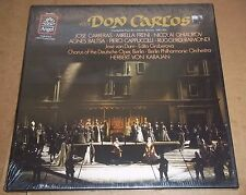 Karajan/Carreras/Freni/Ghiaurov VERDI Don Carlos - Angel SZDX-3875 SEALED