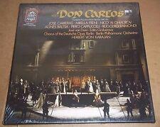 Karajan/Carreras/Freni/Ghiaurov VERDI Don Carlos - Angel SZDX-3875 SEALED