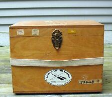 Incredibile Authentic Original Apollo Program Equipment Marked NASA w/Boeing Box