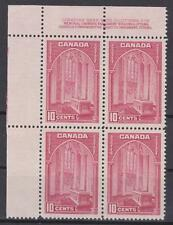 Canada 1938 #PB241a UL - Pictorial Issue (Memorial Chapel) Mint VF