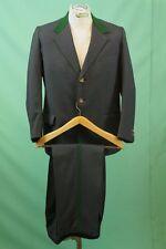 Uriger Trachten Maß-Anzug ca 24/M grau grün Hirsch-Knöpfe vintage Jagd Schneider