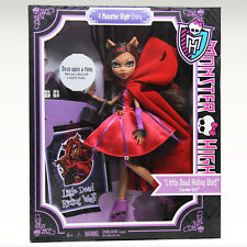 Monster High Story SCARY TALES Little Dead Riding Wolf CLAWDEEN Doll Red Hood !!