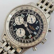 Breitling Old Navitimer Chronograph Automatic Stainless Steel Watch A13322
