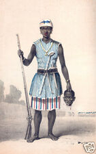 Dahomey Amazon Female Warrior Africa Seh Dong Hong Beh Leader 7x5 Inch Print