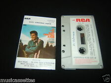 ELVIS PRESLEY ELVIS' CHRISTMAS ALBUM NEW ZEALAND CASSETTE TAPE
