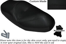 BLACK STITCH CUSTOM FITS HONDA FORESIGHT 250 DUAL LEATHER SEAT COVER