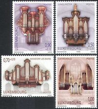 Luxembourg 2008 Welfare Fund/Organs/Music/Musical Instruments 4v set (n42386)