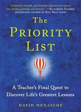 The Priority List: A Teacher's Final Quest to Discover Life's Greatest Lessons -