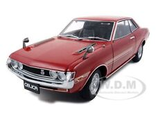 TOYOTA CELICA 1600GT TA22 RED 1:18 DIECAST CAR MODEL BY AUTOART 78783