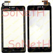 "Touch screen Archos 45 Titanium 4,5"" Vetro Vetrino Digitizer Nero"
