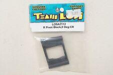Team Losi XX XXT CR Rear Pivot Block 0 Degree - LOSA2112 A2112 A-2112