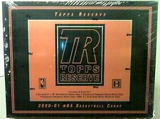 2000-01 Topps Reserve Basketball Box Hobby Only Product  8X10 Autograph Canvas!