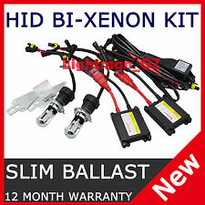 Slim Ballast HID BI-XENON Conversion KIT 9003 HB2 Hi/Lo H4 6000K BIXENON 12V CAR