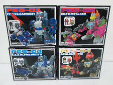 "Transformers Perfect Effect PES SERIES SET OF 4 (3"" tall) WARDEN IN STOCK"