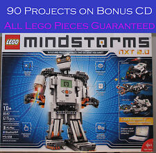 Lego 8547 Mindstorms NXT 100% Complete, Bonus  CD w 90 Great Projects  Set 253