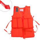 Polyester Adult Kid Life Jacket Universal Swimming Boating Ski Vest with Whistle
