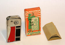rare 1930's art deco enamel reformette pipe lighter mint in box + instructions